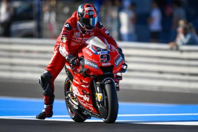 Ducati ditch Jerez demons with strong Friday showing