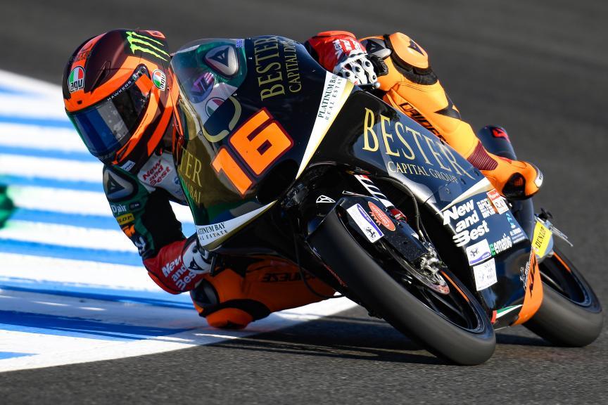 Andrea Migno, Bester Capital Dubai, Gran Premio Red Bull de España