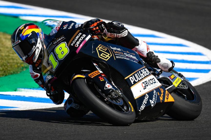 Xavier Cardelus, Sama Qatar Angel Nieto Team, Gran Premio Red Bull de España