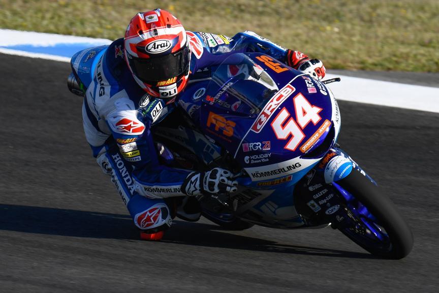 Riccardo Rossi, Kőmmerling Gresini Moto3, Gran Premio Red Bull de España