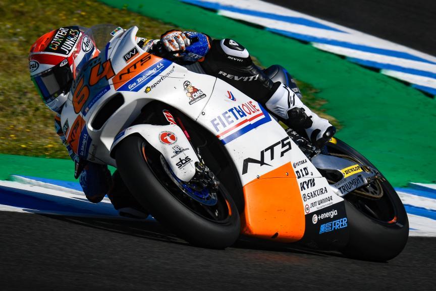 Bo Bendsneyder, NTS RW Racing Gp, Gran Premio Red Bull de España