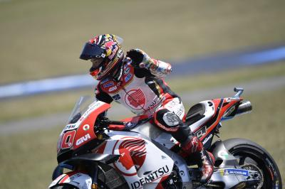 Nakagami joins the Honda assault in Andalucia