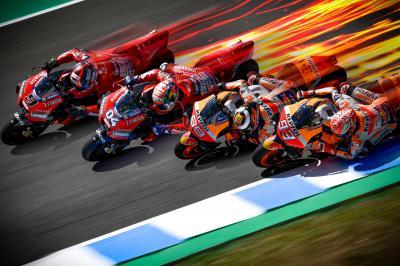 Honda-Ducati, una lucha de titanes en Jerez