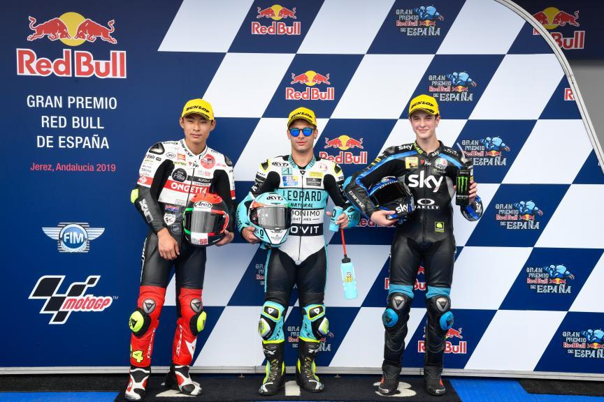 Lorenzo Dalla Porta, Tatsuki Suzuki, Celestino Vietti, Gran Premio Red Bull de España