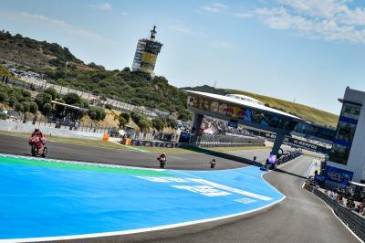MotoGP™ pulveriza récords gracias al reasfaltado de Jerez