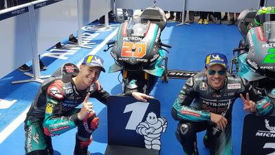 Making history! PETRONAS Yamaha SRT get their first 1-2 in