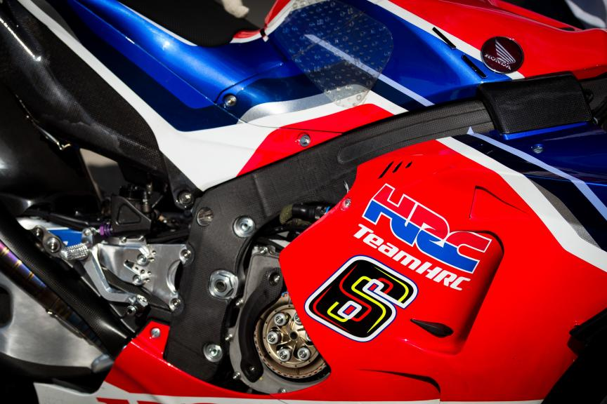 Bradl's chassis used in FP1 ©Thomas Morsellino
