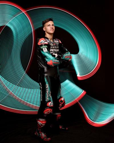 The youngest #MotoGP poleman // How far can @fabioquartararo20 go