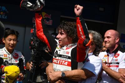 Antonelli reina en Jerez y Canet es nuevo líder de Moto3™