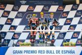 Lorenzo Baldassarri, Jorge Navarro, Augusto Fernandez, Gran Premio Red Bull de España