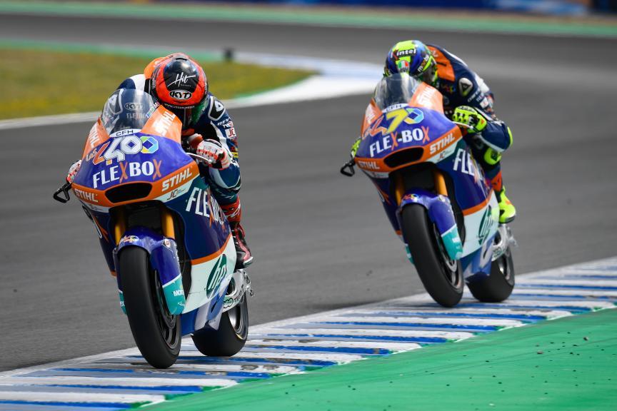 Augusto Fernandez, Lorenzo Baldassarri, Flex-Box HP40, Gran Premio Red Bull de España