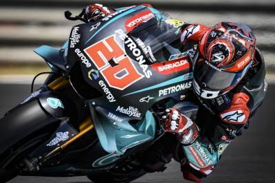 Test de Jerez : Quartararo en met plein la vue !
