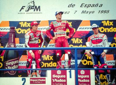 On this day: a Spanish duo on the Spanish podium