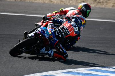 Moto3™ riders tell us what they've tested in Jerez