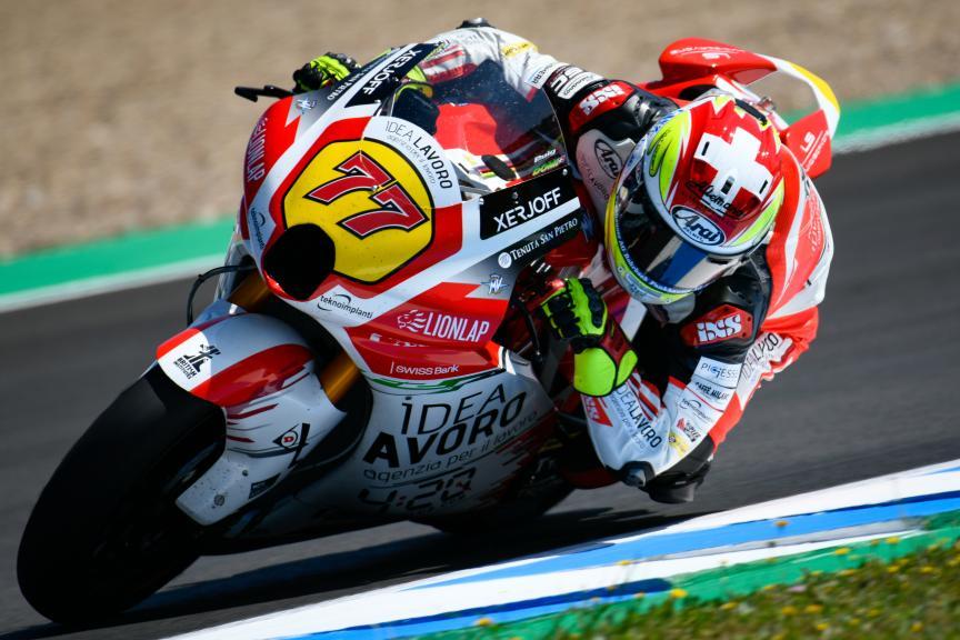 Dominique Aegerter, MV Augusta Idealavoro Forward, Jerez Moto2™ -  Moto3™ Test