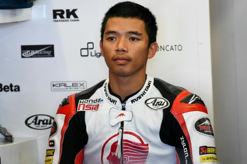 Somkiat Chantra, Idemitsu Honda Team Asia, Jerez Moto2™ -  Moto3™ Test