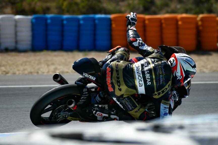Albert Arenas, Sama Qatar Angel Nieto Team, Jerez Moto2™ -  Moto3™ Test