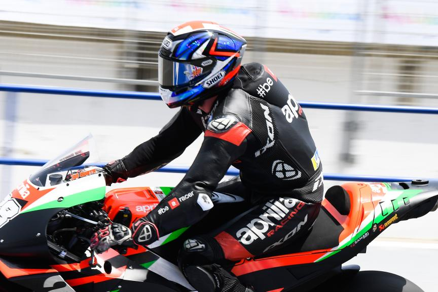 Bradley Smith, Aprilia Racing Team, Jerez MotoGP™ Test
