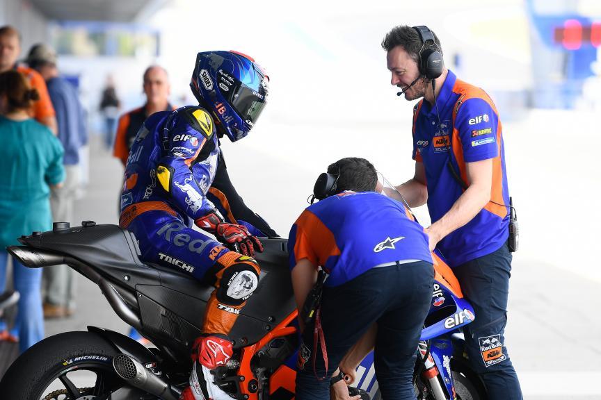 Hafizh Syahrin, Red Bull KTM Tech 3, Jerez MotoGP™ Test