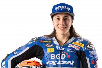Beatriz Neila, la sensación del Yamaha VR46 Master Camp 2019