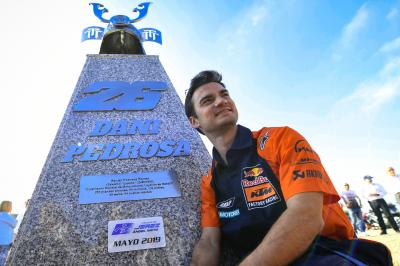 Pedrosa talks about the recovery from his shoulder operation
