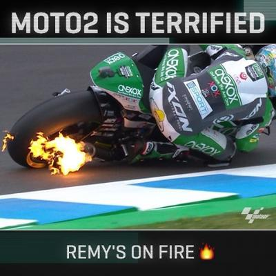 @remygardner was cooking up a barbecue all weekend in Jerez!
