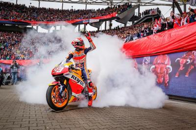 Marquez lights up Leipzig
