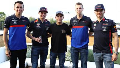 Getting the #RedBullFamily together for a chat Talking all things