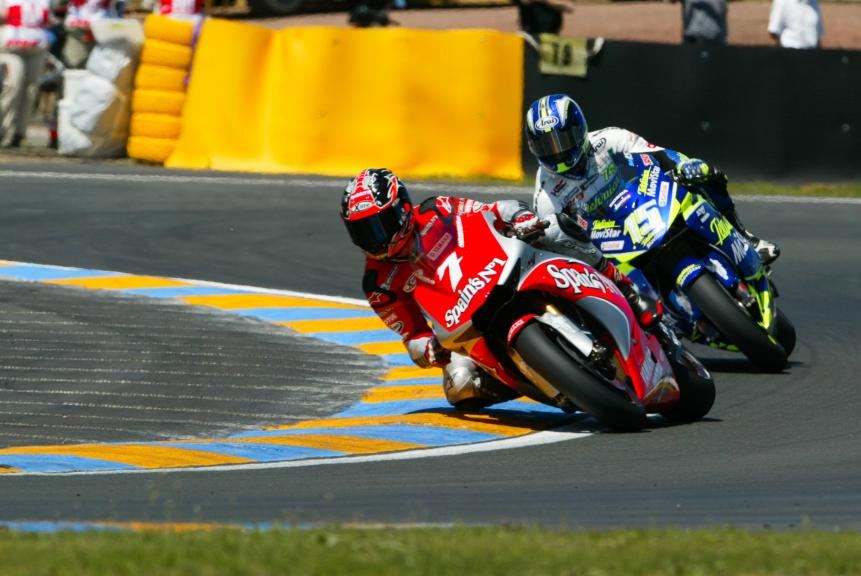 Carlos Checa, Sete Gibernau, Le Mans 2004