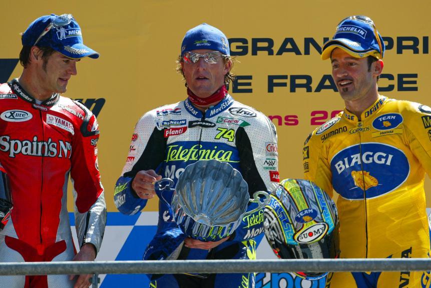 Le Mans, 2004 podium