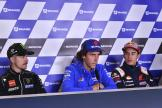 Maverick Vinales, Alex Rins, Marc Marquez, SHARK Helmets Grand Prix de France