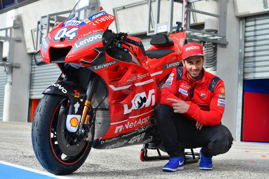 Andrea Dovizioso, Mission Winnow Ducati, SHARK Helmets Grand Prix de France