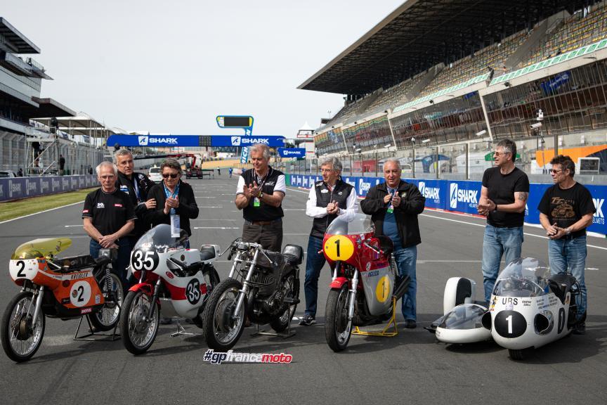 Motos históricas, Le Mans