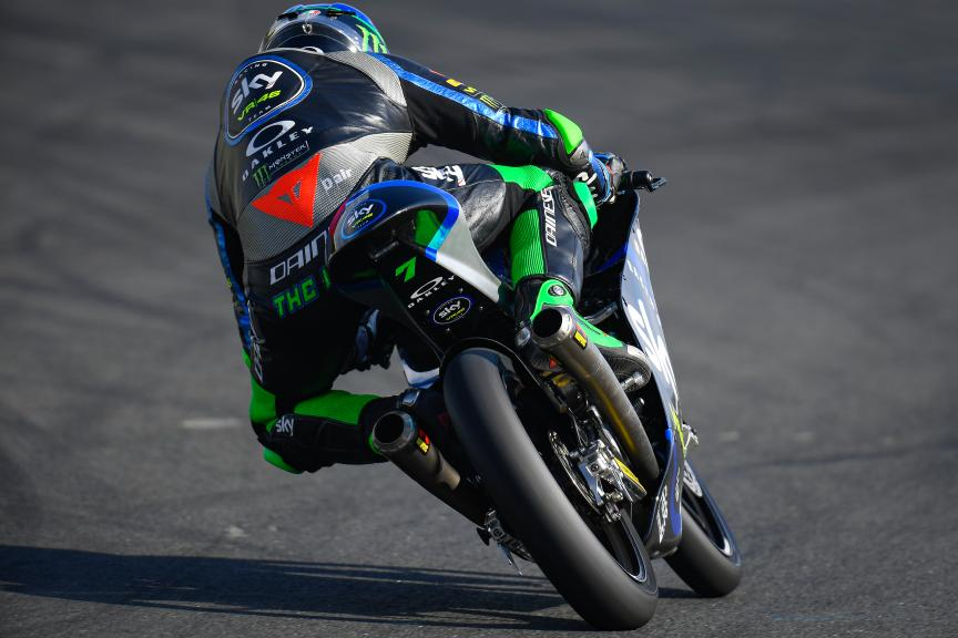 Dennis Foggia, Sky Racing Team VR46, SHARK Helmets Grand Prix de France