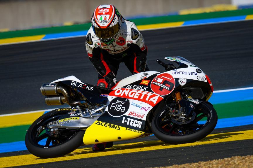 Niccolo Antonelli, SIC58 Squadra Corse, SHARK Helmets Grand Prix de France