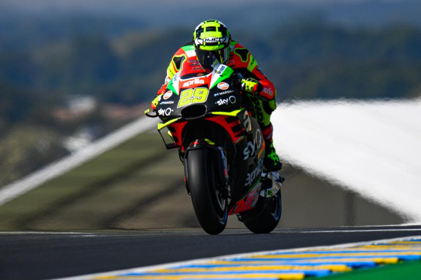 Andrea Iannone, Aprilia Racing Team Gresini, SHARK Helmets Grand Prix de France