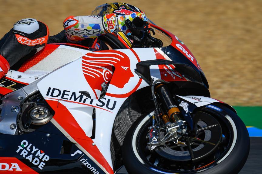 Takaaki Nakagami, LCR Honda Idemitsu, SHARK Helmets Grand Prix de France