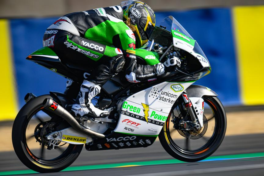 Darryn Binder, CIP Green Power, SHARK Helmets Grand Prix de France