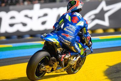 Suzuki, a merced de la ruleta rusa del cielo de Le Mans