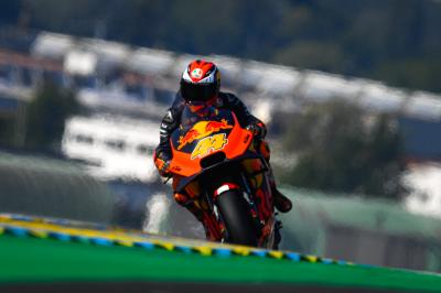 New parts, new Pol: KTM gain ground