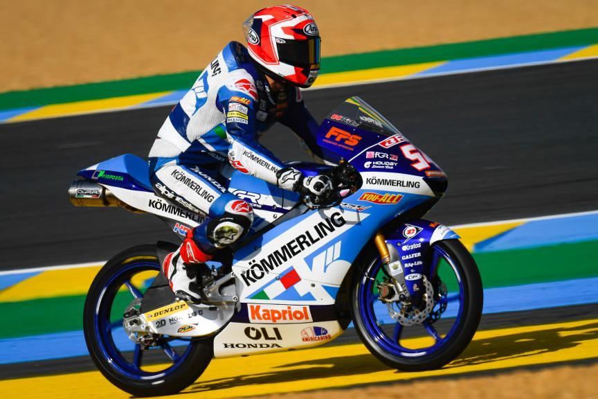 Riccardo Rossi, Kőmmerling Gresini Moto3, SHARK Helmets Grand Prix de France