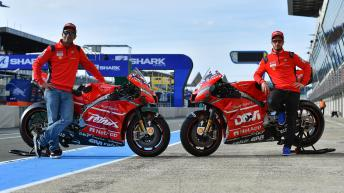 One-off Ducati liveries for Le Mans