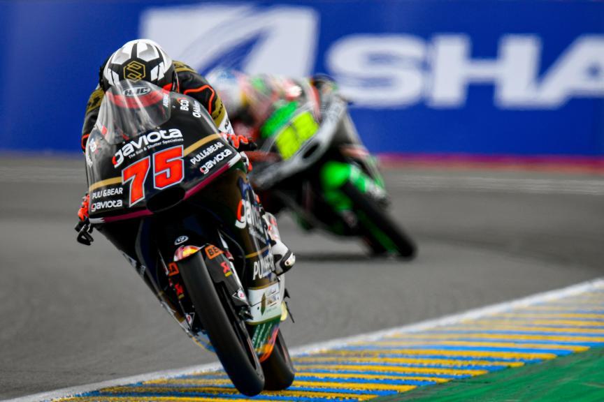 Albert Arenas, Sama Qatar Angel Nieto Team, SHARK Helmets Grand Prix de France