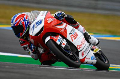 Ogura fastest in absolute crash-fest of a Moto3™ FP2