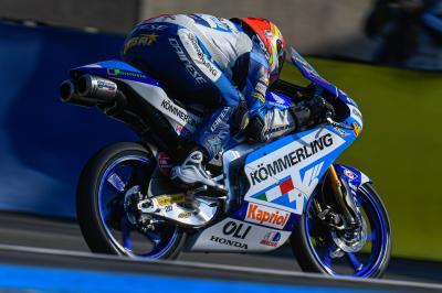Rodrigo marca el ritmo en el estreno de Moto3™ en Francia