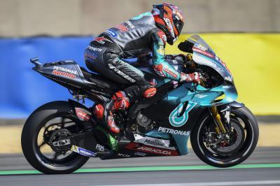 Quartararo vuela ante las Ducati y Pol lidera el auge de KTM