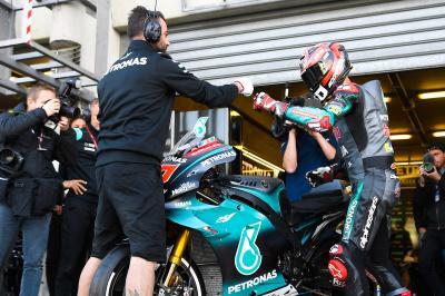 Quartararo continue son show au Mans…