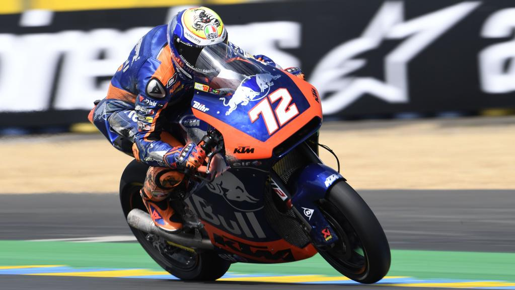 Marco Bezzecchi, Red Bull KTM Tech 3, SHARK Helmets Grand Prix de France