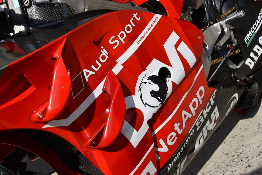 Andrea Dovizioso, Ducati Team, SHARK Helmets Grand Prix de France