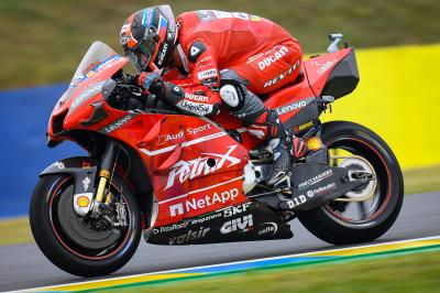 Ducati trio looking strong in Le Mans